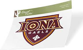Amazon Com Iona College Gaels Ncaa Vinyl Decal Laptop Water Bottle Car Scrapbook Sticker 00031 Arts Crafts Sewing