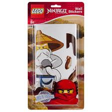 Lego Wall Stickers Ninjago Small Pack Toys Zavvi Us