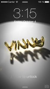 preview of gold shine for name vinny