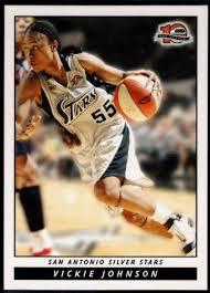 Amazon.com: Basketball NBA 2006-07 WNBA #7 Vickie Johnson ...