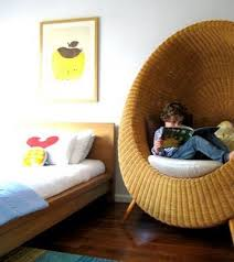 Baby Space Room For Kids Nest Egg Reading Nook Kids Cozy Reading Chair Kids Room