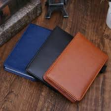 a7 notebook notepad note book leather
