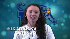 Get to know the Tigers -- Freshman pitcher Adriana Morgan - YouTube