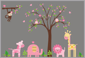 Baby Girls Decals Baby Girls Wall Stickers Baby Room Decor Pink Nurserydecals4you