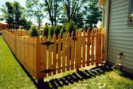 Wood Fence French Gothic Wood Fence Picket
