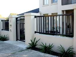20 Simple House Architecture And Design In Modern Philippines Style House Gate Design House Fence Design Compound Wall Design