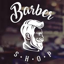 Barbershop Window Sign Barber Shop Sign Hair Salon Window Decal Indianbusinesstrade Com