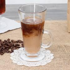 8 5 oz irish glass coffee mug