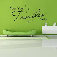 Aw9162 Soak Your Troubles Away English Quote Wall Sticker Bubble Vinyl Wall Decals Art Vinyl Wall Quotes Graffiti Wall Stickers Graphic Wall Decals From Fst1688 5 45 Dhgate Com