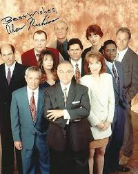 Alan Rachins signed LA Law cast photo / autograph 8x10 | eBay