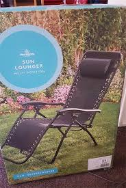 morrisons is ing a sun lounger for