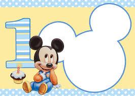 Invitaciones De Cumpleanos De Mickey Mouse En Hd Gratis Par Con