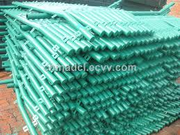 Pvc Coated Round Fence Post From China Manufacturer Manufactory Factory And Supplier On Ecvv Com