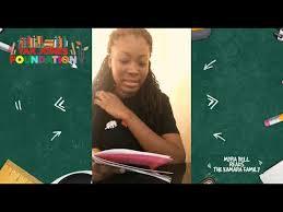 Myra Bell reads 'The Kamara Family' for the Yak Jones -JNAP Ventures Online  Book Club - YouTube