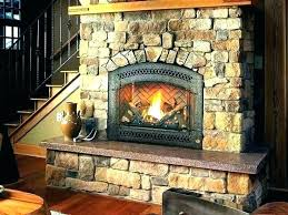 convert wood fireplace to gas