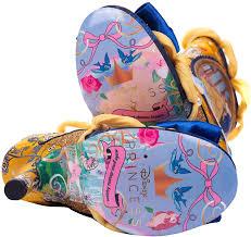 Amazon.com: Irregular Choice Disney Princess- Tacones de la Bella y la  Bestia: Clothing