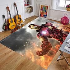 Cartoon Baby Playmat The Avengers Marvel Iron Man Kids Rug Carpet Floor Bedroom Doormat Non Slip Mat Birthday Gift Baby Gyms Playmats Aliexpress