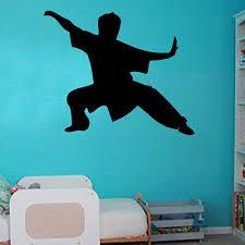 Karate Decal Vinyl Wall Sticker Art Kids Room Boys Girls Decor Ebay
