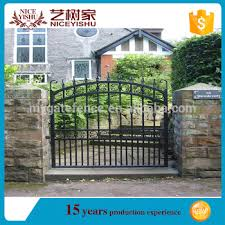2016 New Modern House Main Gate Designs Small Sliding Iron Garden Fence Gate House Gate Color View House Main Gate Designs Yishujia Product Details From Shijiazhuang Yishu Metal Products Co Ltd On Alibaba Com