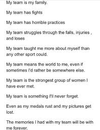 my cheer team is my family team quotes soccer team quotes