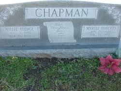 """Carra Myrtle """"Myrtle"""" Roberts Chapman (1909-1991) - Find A Grave ..."""