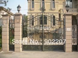 Sliding Metal Gate Ornate Iron Gates Black Iron Fence Gates Wrought Iron Gate Iron Gateiron Gates Aliexpress