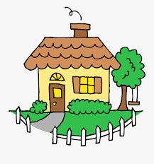 Transparent Outside Clipart Drawing House Picket Fence Free Transparent Clipart Clipartkey