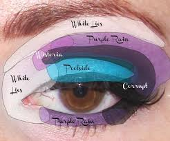 easy colorful makeup tutorial
