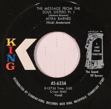 Myra Barnes - The Message From The Soul Sisters (1970, Vinyl) | Discogs