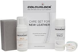 colourlock leather shield clean care