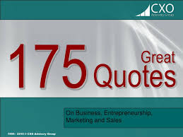 great quotes on business entrepreneurship marketing and s