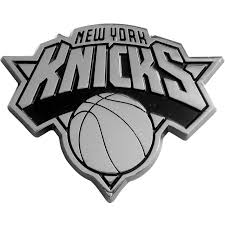New York Knicks Auto Metal Emblem Chrome
