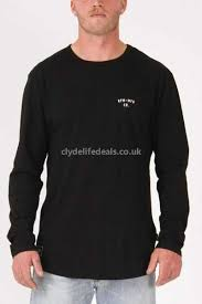 clothing rpm staple long sleeve tee mens