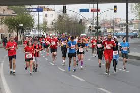 finishing times for running a half marathon