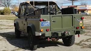 land rover 110 is the military vehicle