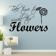 Winston Porter Take Time To Smell The Flowers Wall Decal Reviews Wayfair