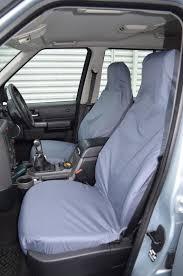 front pair black waterproof seat