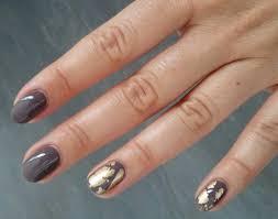 Proste Zdobienie Krotkich Paznokci Manicure Hybrydowy W Kolorze