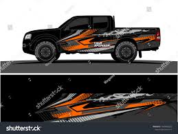 Truck Car And Vehicle Racing Graphic Kit Background For Wrap And Vinyl Sticker Car Sticker Design Graphic Kit Car