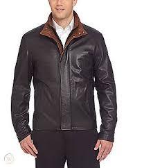bnwt daniel cremieux lambskin leather