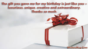 90 perfect thank you messages for gift