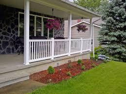 Wrought Iron Deck Railing Panels Best Room Design Front Porch Railing Matter