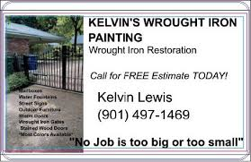 Kelvin S Wrought Iron Painting About Facebook