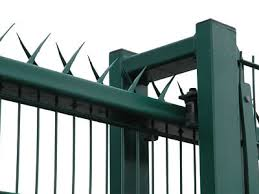 Wall Spikes Fences Galvanized Steel Sheet And Stainless Steel Type