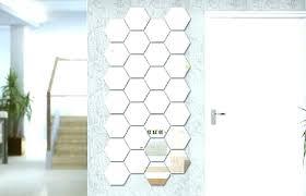 ikea hexagon mirrors