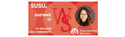 VP Welfare and Community Daphne Li Candidate Interview