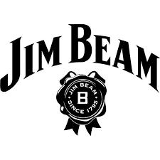 Jim Beam Logo Decal Sticker Jim Beam Logo Decal Thriftysigns