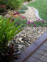 rock garden ideas using nature exterior