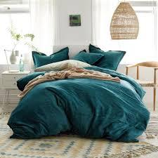 easton velvet cotton blend bedding