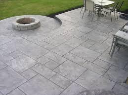 alluring concrete patio designs stamped